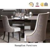 Gewebe-oder Leder-Handelsgaststätte-Möbel-moderne speisende Stühle (HD1102)
