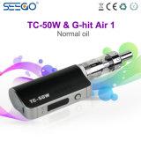 Seego G-A heurté l'air 1 et le nécessaire multifonctionnel de vaporisateur de Tc-50W avec la batterie 2000mAh