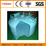 Spray de doble tanque de aire cuadro Oilless silencioso compresor de aire (TW7502S)