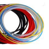 Ondulation en plastique de qualité alimentaire clair tube flexible haute température