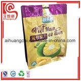 Getrocknete Jackfruit-Chips, die Aluminiumplastikmit reißverschlußbeutel verpacken