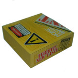 Gewölbte zurückführbare harte Pappverpackende gute Qualitätspapierkästen mit Hülse