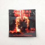 Impresión directa de fábrica preciosa bolsa de tabaco/bolsas resellables