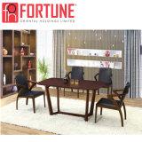 Высокое качество темно-коричневой деревянной ресторан стол и стулья (FOH-BCA53)