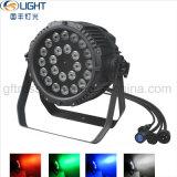 Exterior IP65 24*10W RGBW 4en1 Fase resistente al agua a la par de LED de luz puede