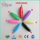 회교도 의류를 위한 분류된 색깔 38mm Oval-Shaped 플라스틱 맨 위 스카프 Hijab 안전핀