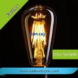 LED 가벼운 St64 4W 6W 4PCS 필라멘트 LED 전구 램프