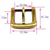 A curvatura de correia quente do Pin da curvatura do chicote de fios da liga do zinco do metal da venda para o vestuário calç as bolsas (Yk1180-1235)