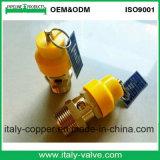 De gele Afblaasklep van de Veiligheid van de Hoed Pneumatische (Av-pv-1008)