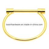 braccialetto di figura dell'arco dell'acciaio inossidabile con la barra della vite