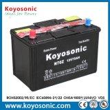 Trockene belastete 12V 74ah elektrische Autobatterie der Selbstbatterie-