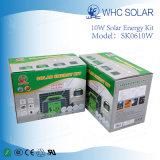 Terminar el sistema 10W del panel de la energía solar del kit para la iluminación casera