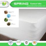 Alta calidad durable de la cubierta del protector del colchón de la talla gemela antibacteriana hipoalérgica