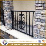 Безопасности не сварки оцинкованной стали Bronze-Colored трубчатые балкон поручни