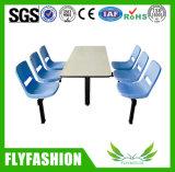 군매점 가구 식탁 및 의자 고정되는 대중음식점 테이블 (DT-02)