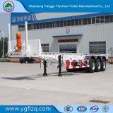 2/3 Semi Aanhangwagen van het Skelet van de As voor Vervoer van de Container 20/40FT