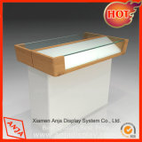 Mobile Wooden Phon Mobile Display Cabinet Phon Display Rack