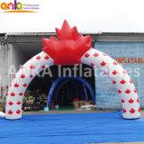 La ville de Guangzhou Noël lumière gonflable Arch avec garantie 2 ans