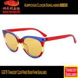 Óculos de sol redondos do frame da franja da cor de Gg0179 Transucent