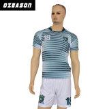 Fabrik Soem-Qualitäts-preiswerter Breathable Sublimation-Fußball Jersey (S005)
