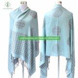 2017 Hot vendre Pashmina châle de mode avec hirondelle foulard Jacquard
