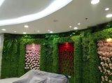 Alti piante e fiori artificiali della parete verde Gu-Mx-Green-Wall0017