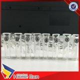 Santé et la pratique de pointe du verre avec logo pointe du verre