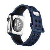 Новые цвета дышащий силиконовый ремешок для просмотра Apple Смотрите