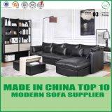 Mobilia di cuoio d'angolo moderna del sofà del salone nordico