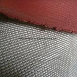 Tessuto rivestito di silicone a prova di fuoco resistente a temperatura elevata della vetroresina della fiamma