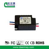 Certifié UL Driver de LED à haute efficacité étanche 12W 24V 0.45une puissance de LED
