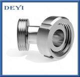 Coude fileté parMâle sanitaire d'acier inoxydable (DY-E011)