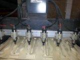 Machines avec 4 l'axe principal, machine fonctionnante de travail du bois de commande numérique par ordinateur de taille de 1600*2500*200mm
