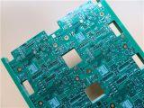 PCB multicapa construida sobre 4 Fr-4 de 1,6 mm de capa de cobre vía