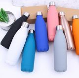 Botella de vacío de pared doble vendedora superior de la botella de agua de la inflamación de la botella del acero inoxidable