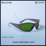 800 - 1700nm Od 4+ y 900 - gafas de seguridad de laser de 1100nm Od 5+ que blindan gafas de Laserpair