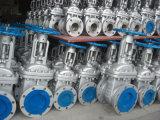 Управляемая шестерней запорная заслонка литой стали