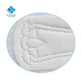Un usage féminin ultra mince en coton hautement absorbantes respirante dégradable ailé Produits hygiéniques