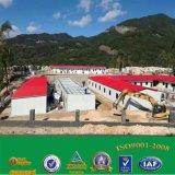 Gebruikte het PrefabHuis van het Bouwmateriaal van de Structuur van het staal Voor Bureau het Modulaire Huis van de Container