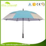 Зонтик гольфа подарка людей выдвиженческий с UV серебряным покрытием внутрь