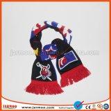 Lenço de futebol com os logotipos personalizados para promoção dons