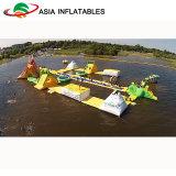 Aufblasbarer sich hin- und herbewegender Wasser-Park, Wasser-Park-Spielwaren für Strand-Meerwasser