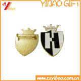 Custom de metal esmaltado duro Prendedores/ barata insignia de solapa/Oro Prendedores (YB-LP-05)