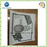 Kundenspezifischer Matt-Heißsiegel-Plastikreißverschluß bauscht sich (jp-s040)