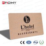 Alta tarjeta de papel de la seguridad MIFARE RFID para el sistema del bloqueo del hotel
