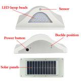 薄暗いモードの太陽LEDの軽い屋外の動きセンサーの防水庭の壁ライト