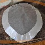 Dei capelli parrucca anteriore francese brasiliana di riserva del merletto in pieno (PPG-l-01014)