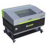 Heißer Verkaufs-Nichtmetall CO2 Laser-Ausschnitt und Gravierfräsmaschine Es-9060