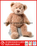 Jouet de mascotte de Footable de peluche d'ours de nounours