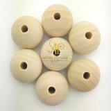 Высокое качество Dia25мм чистый белый Natual камфорному дереву совка деревянный шарик/Pack Camphorwood шаровой шарнир